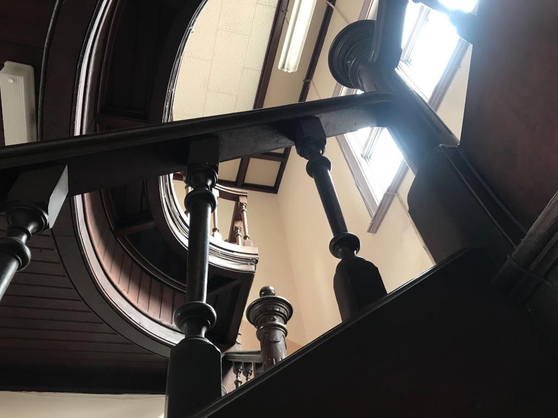 石炭会館の内部