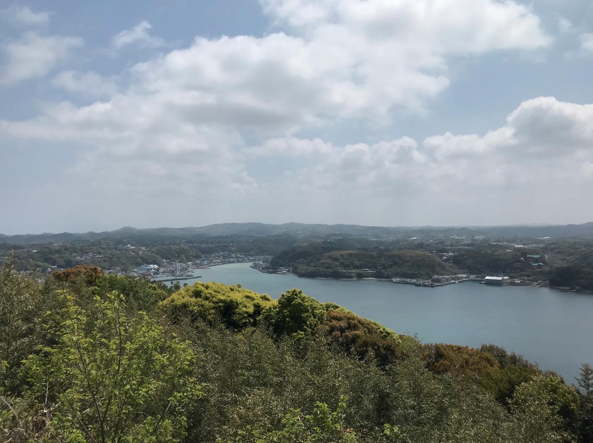 風の見える丘公園(加部島)の眺望