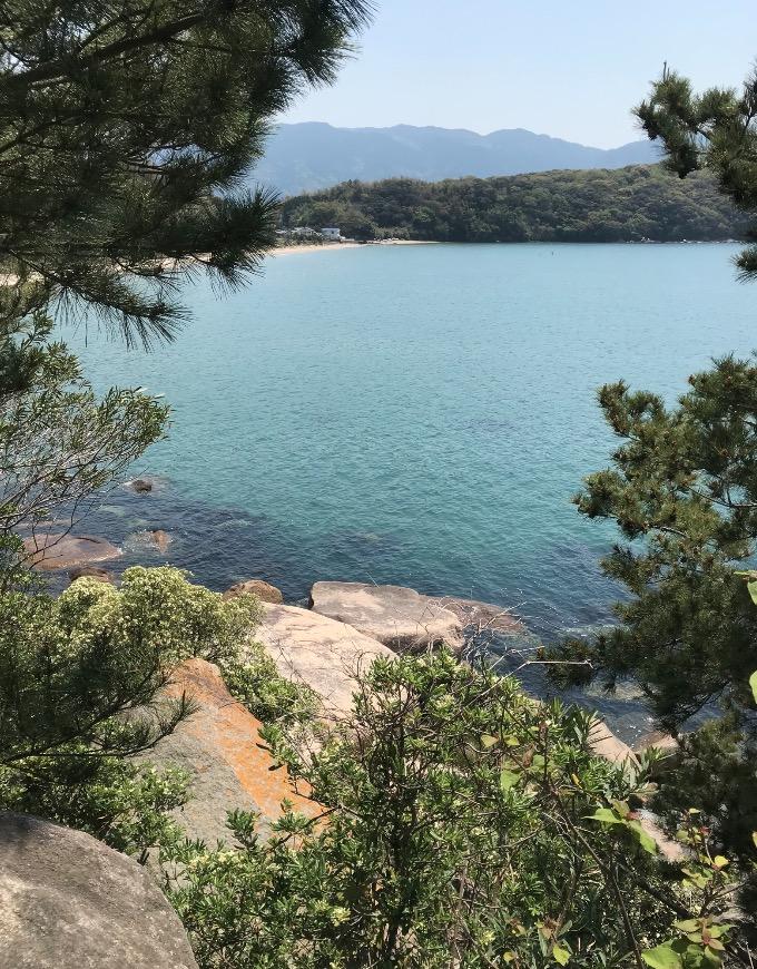 箱島神社からの眺め