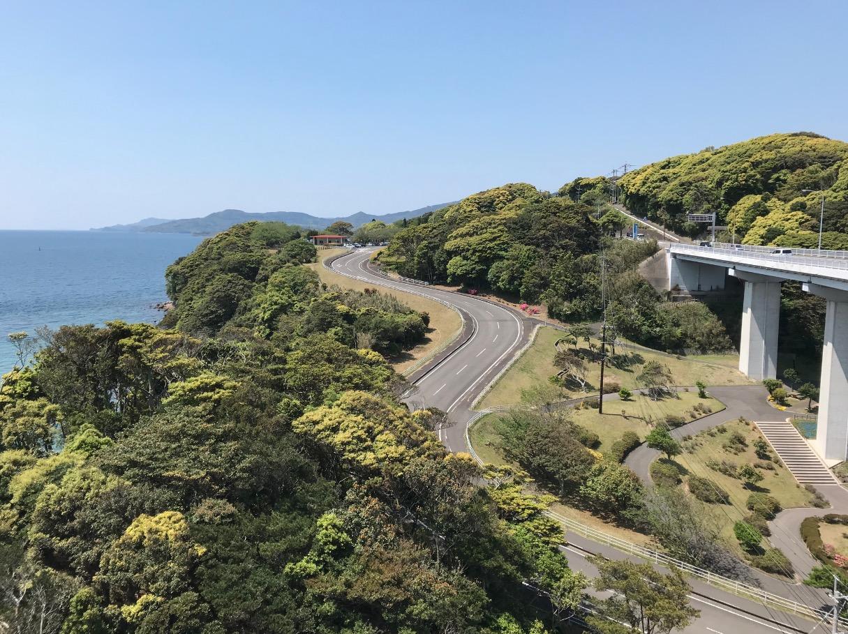 平戸大橋からの眺め