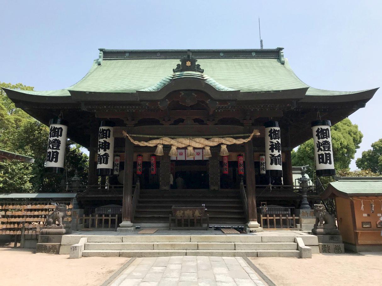 水天宮(久留米市)拝殿