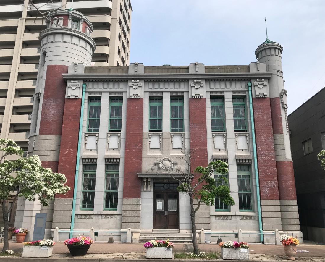 旧古河鉱業若松ビル(北九州市若松区)