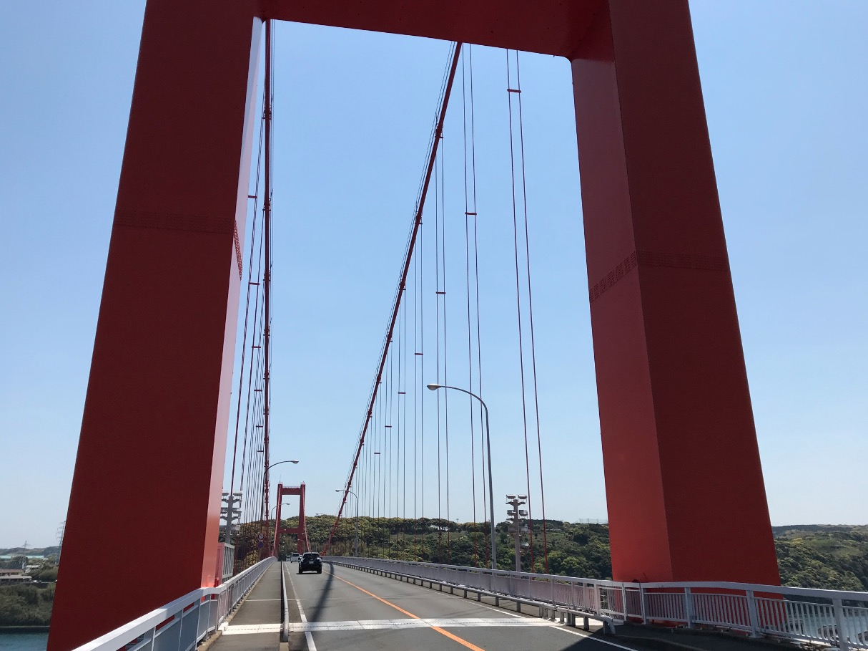 平戸大橋の威容
