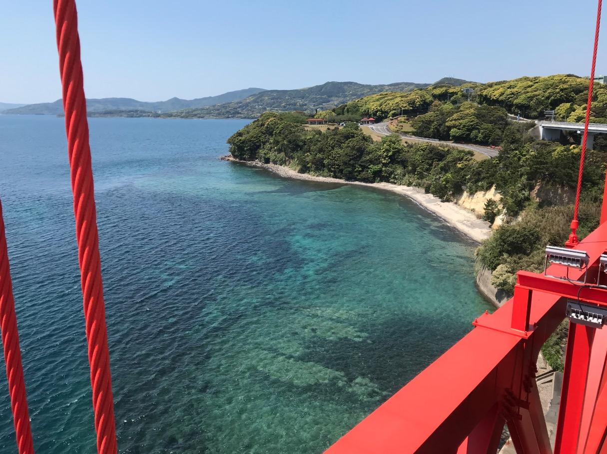 平戸大橋から見た平戸瀬戸