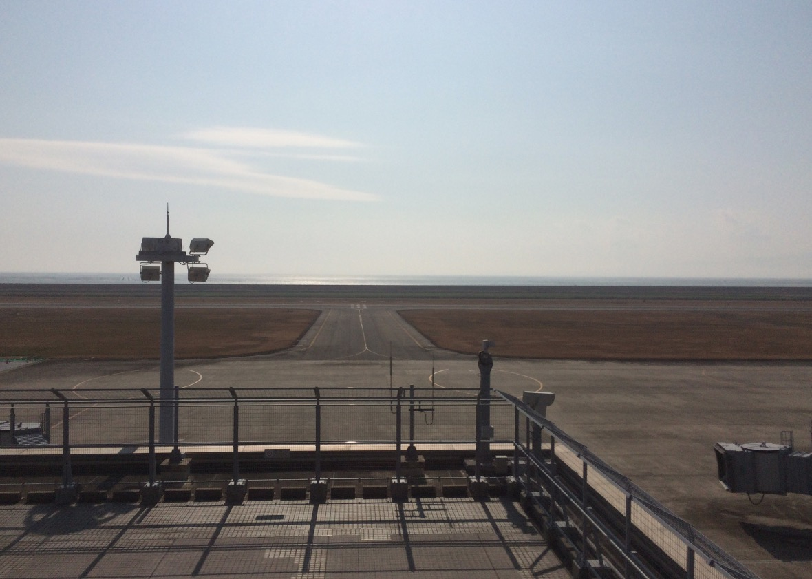 九州佐賀国際空港からの展望