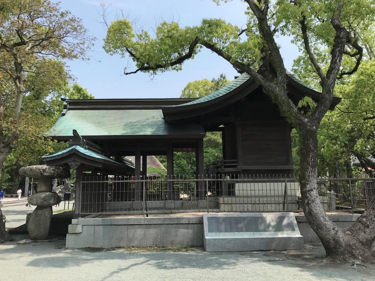 水天宮(久留米市)の眞木神社