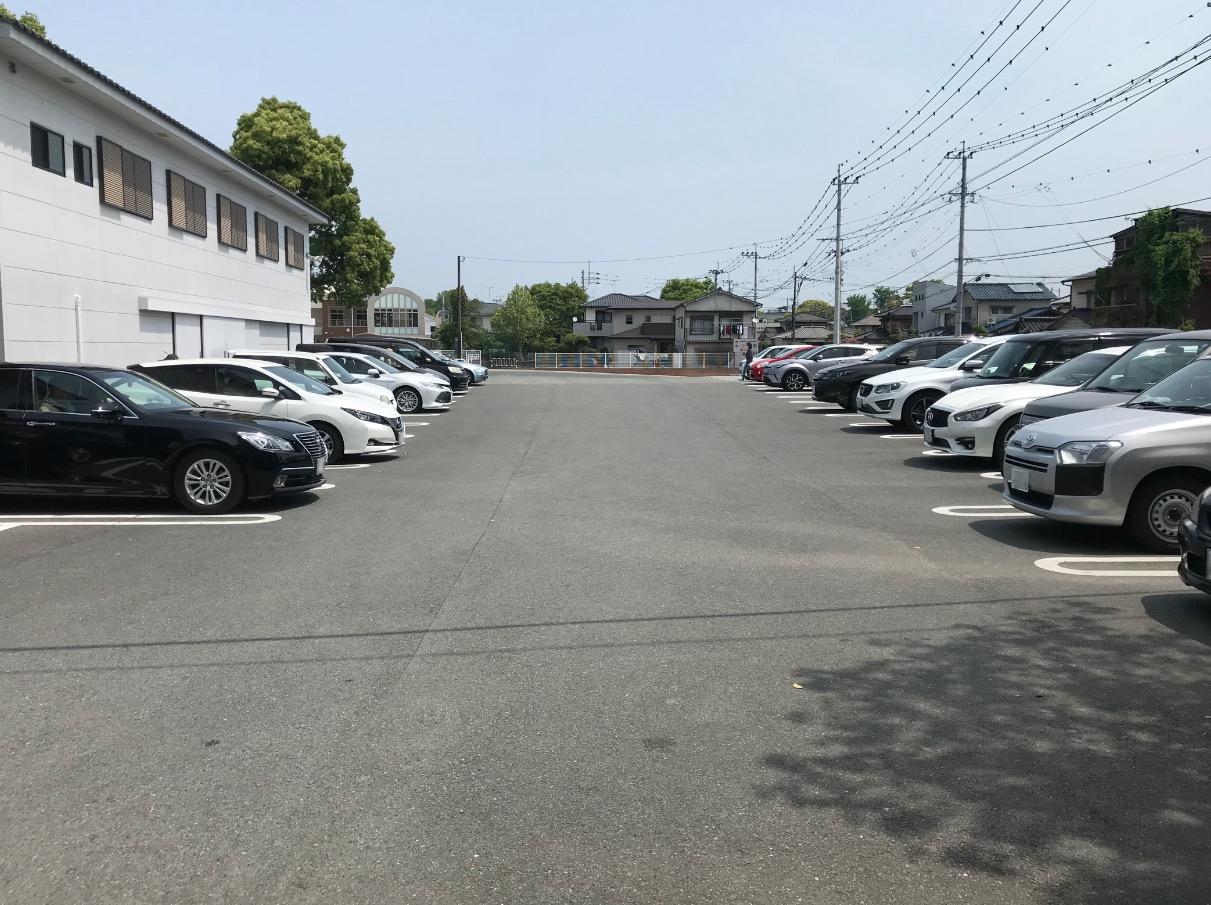 水天宮(久留米市)の駐車場