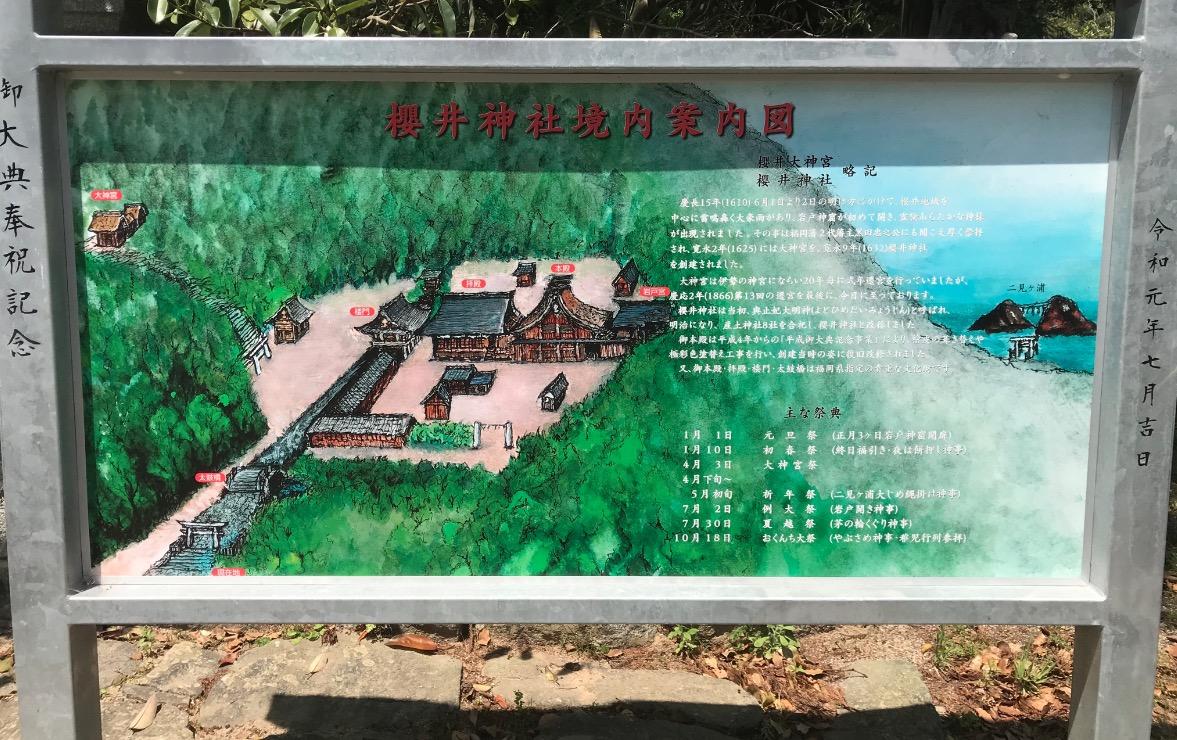 櫻井神社の案内