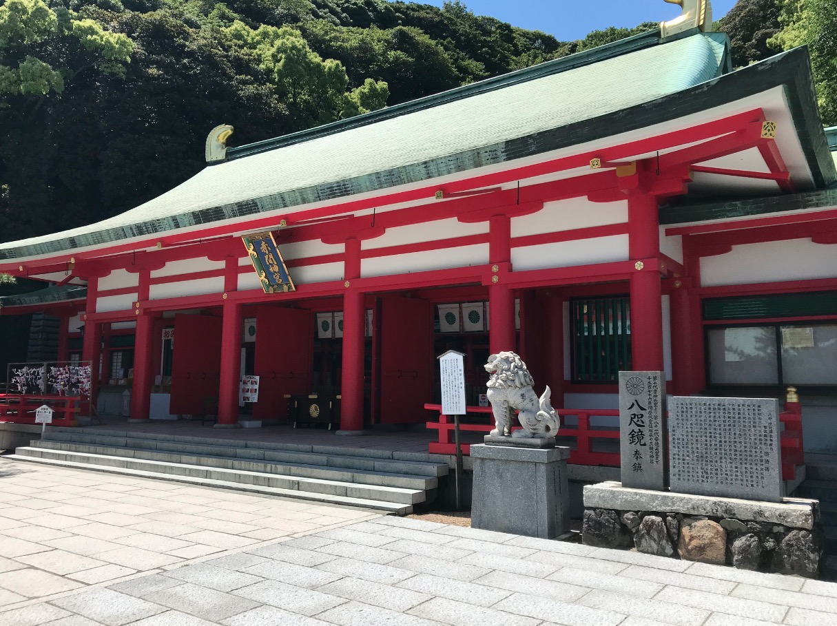 赤間神宮の外拝殿