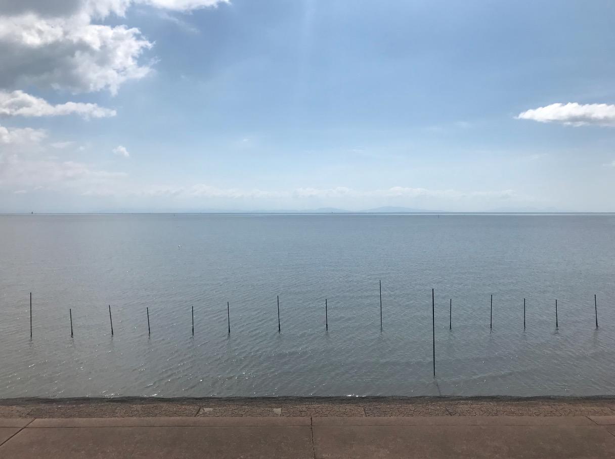 道の駅鹿島から見た有明海