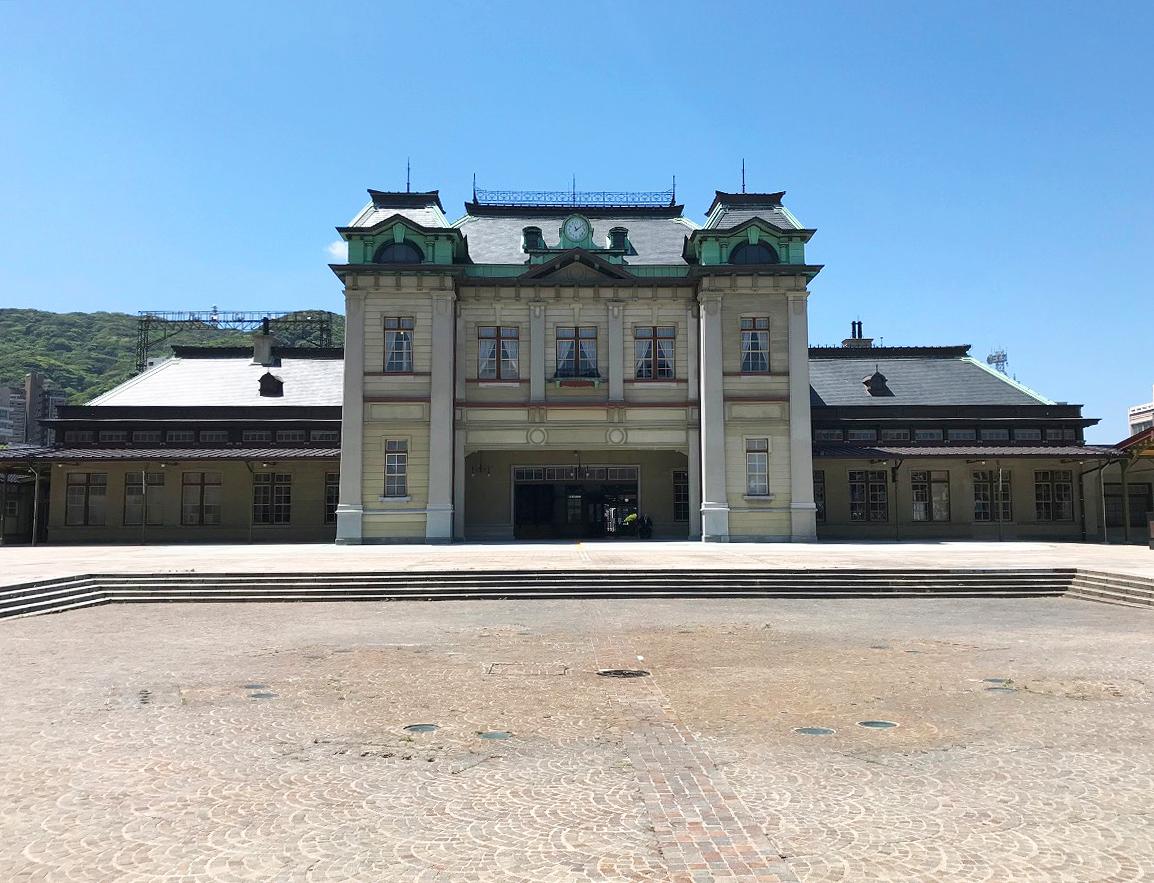 門司港駅の駅舎(正面)