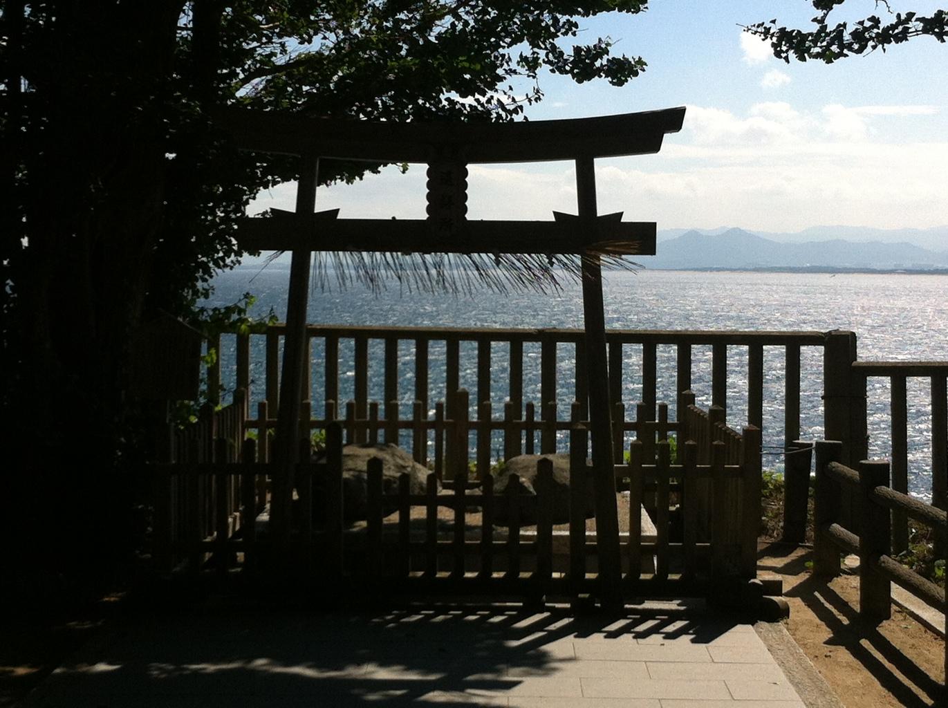 ひとり遠足・志賀島4:志賀海神社