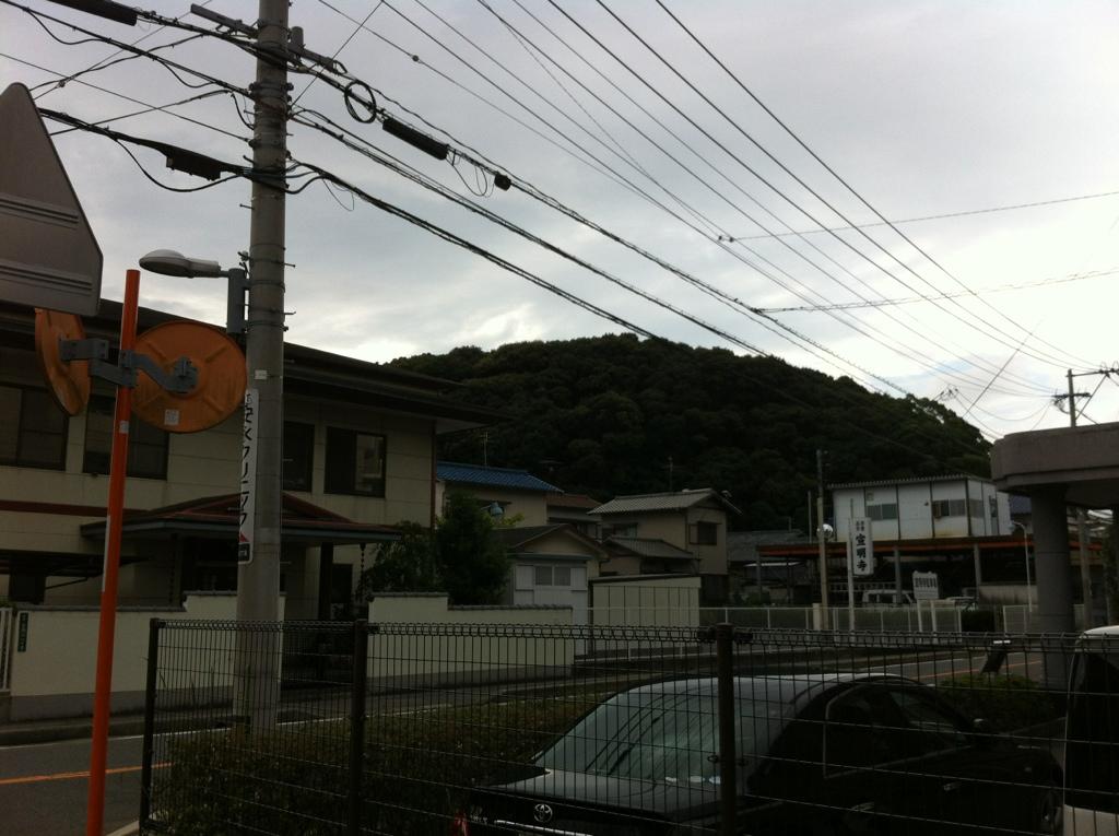 水城跡(天神山土塁)