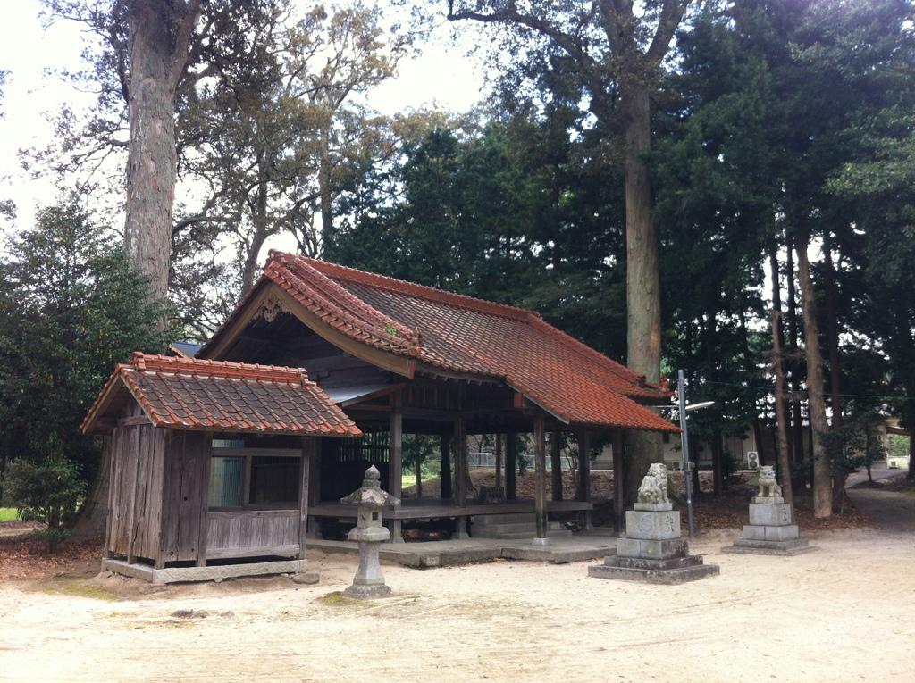 雷神さまの細道の関:八龍神社