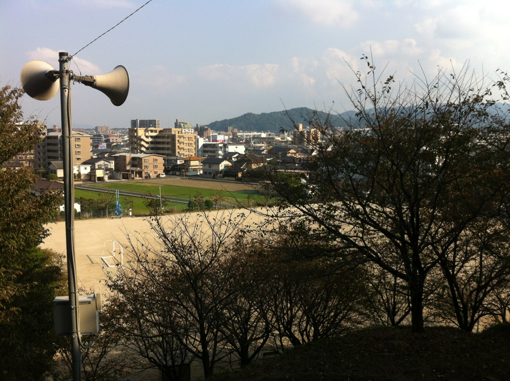 山のあるグラウンド:岩戸公園