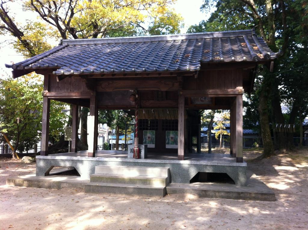 宗像からの照り返し:背振神社(弥永)