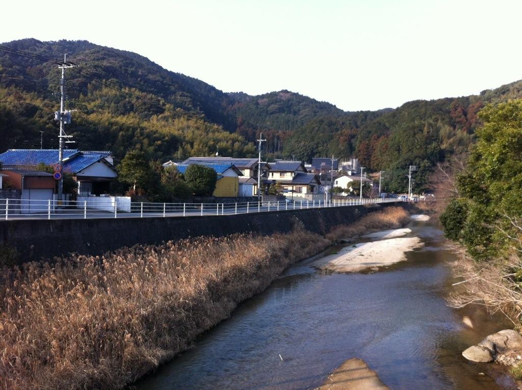 おぎわら橋(那珂川町)の上から