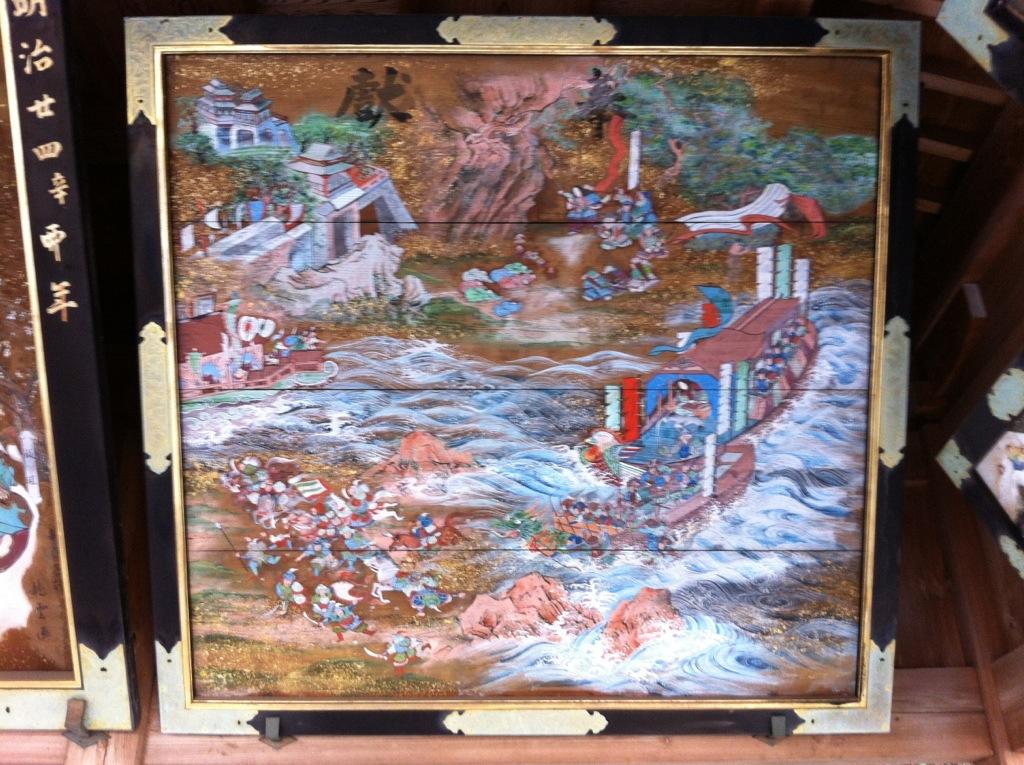 神話〜明治の歴史絵巻:平野神社・2(絵馬堂)
