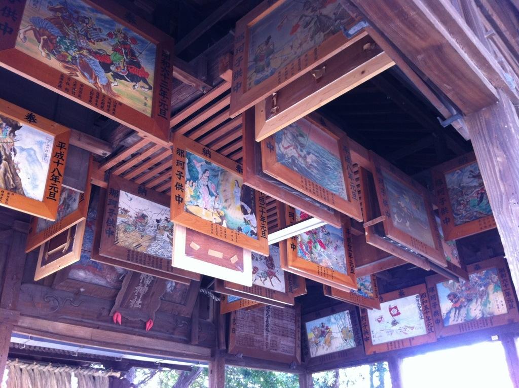 古墳の上の八幡神:那珂八幡宮