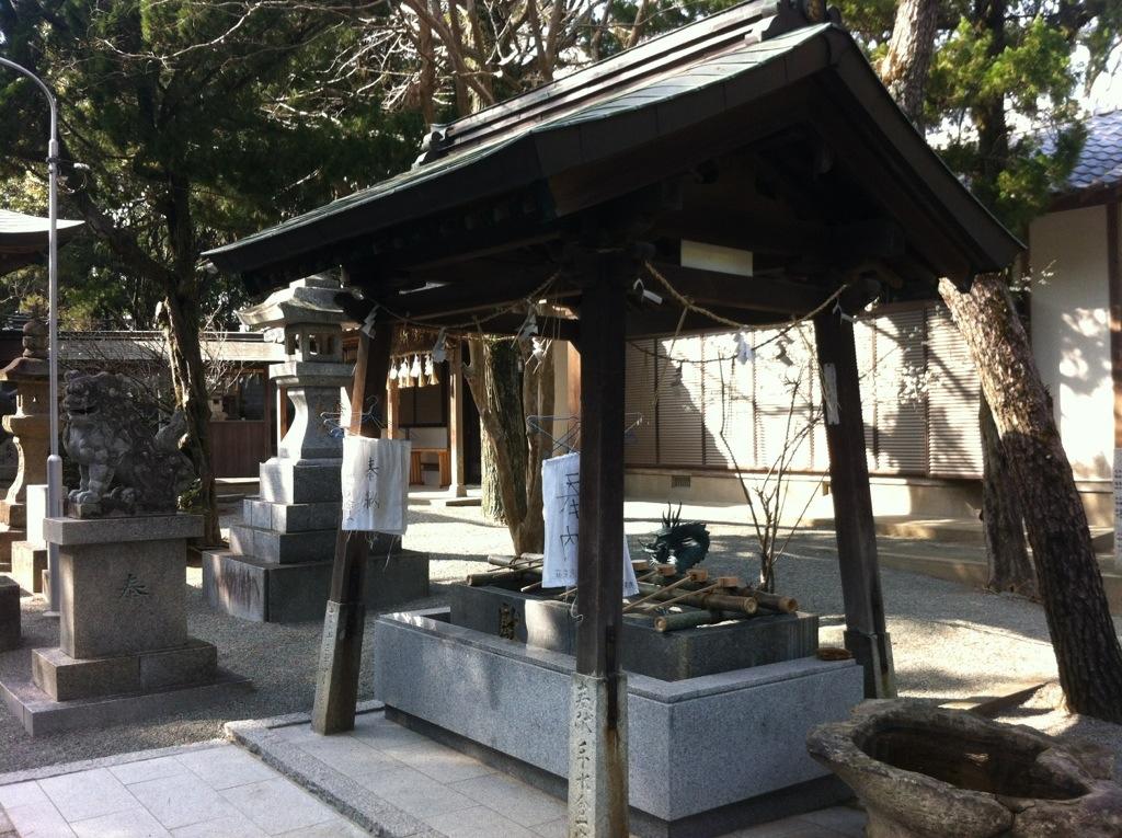 志式神社・手水舎