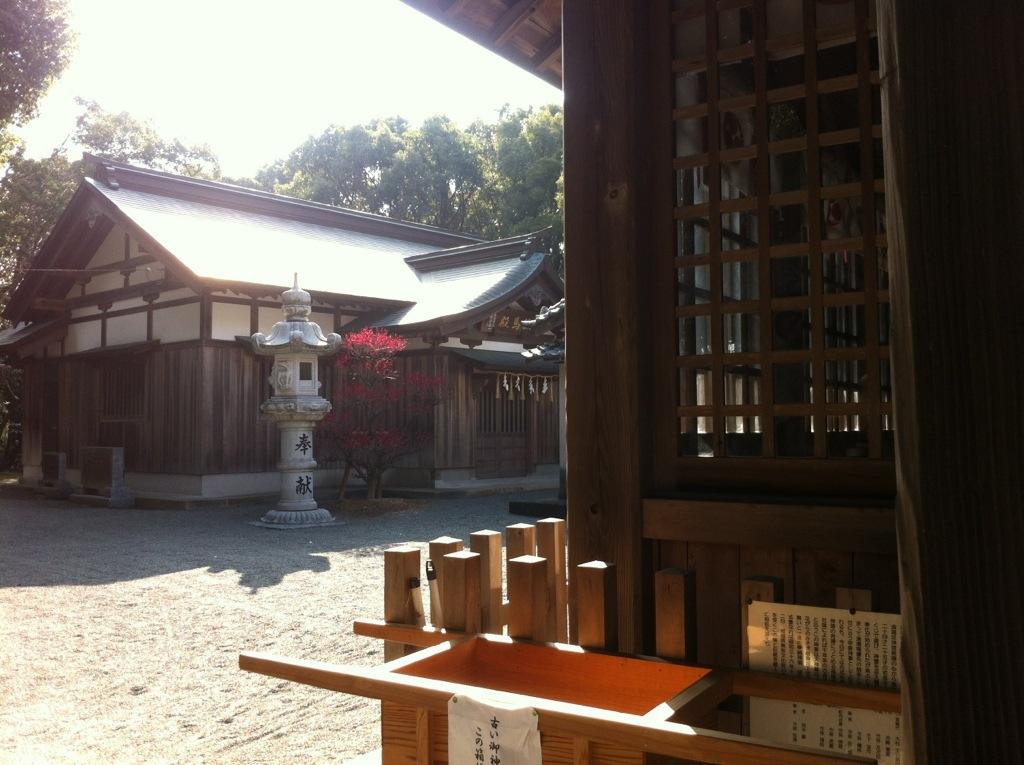 志式神社・絵馬堂