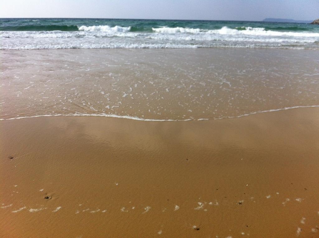 海からの参道:志式神社・4(吹上浜)