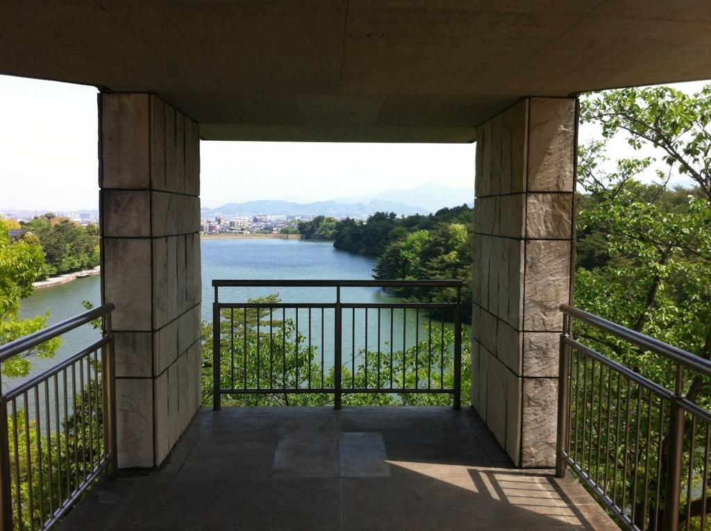 儺国を見下ろすらくらく眺望:白水大池公園6・展望台
