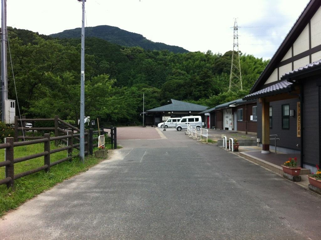 中ノ島公園(那珂川町)に入ったところ