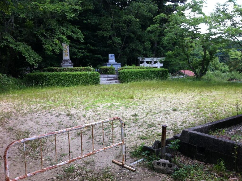 日吉の森(那珂川町)の忠魂碑