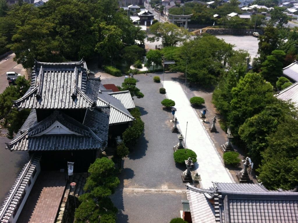 扇の深慮:中津城