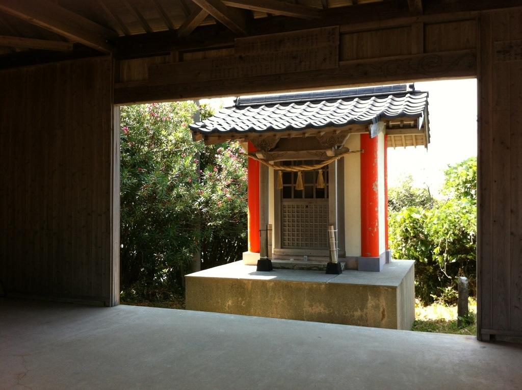 国東の入り口で:粟嶋神社・1
