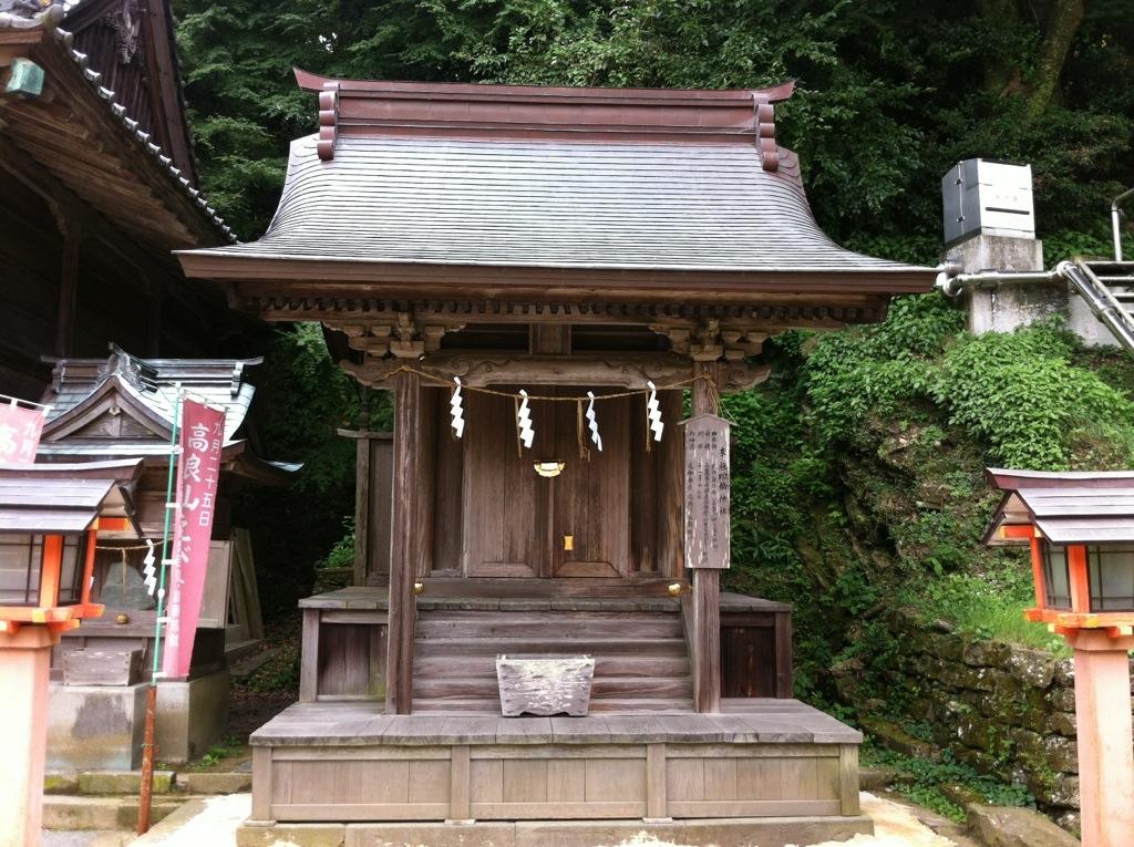 日本史の指紋認証:高良大社・4(市恵比寿社、印鑰神社)