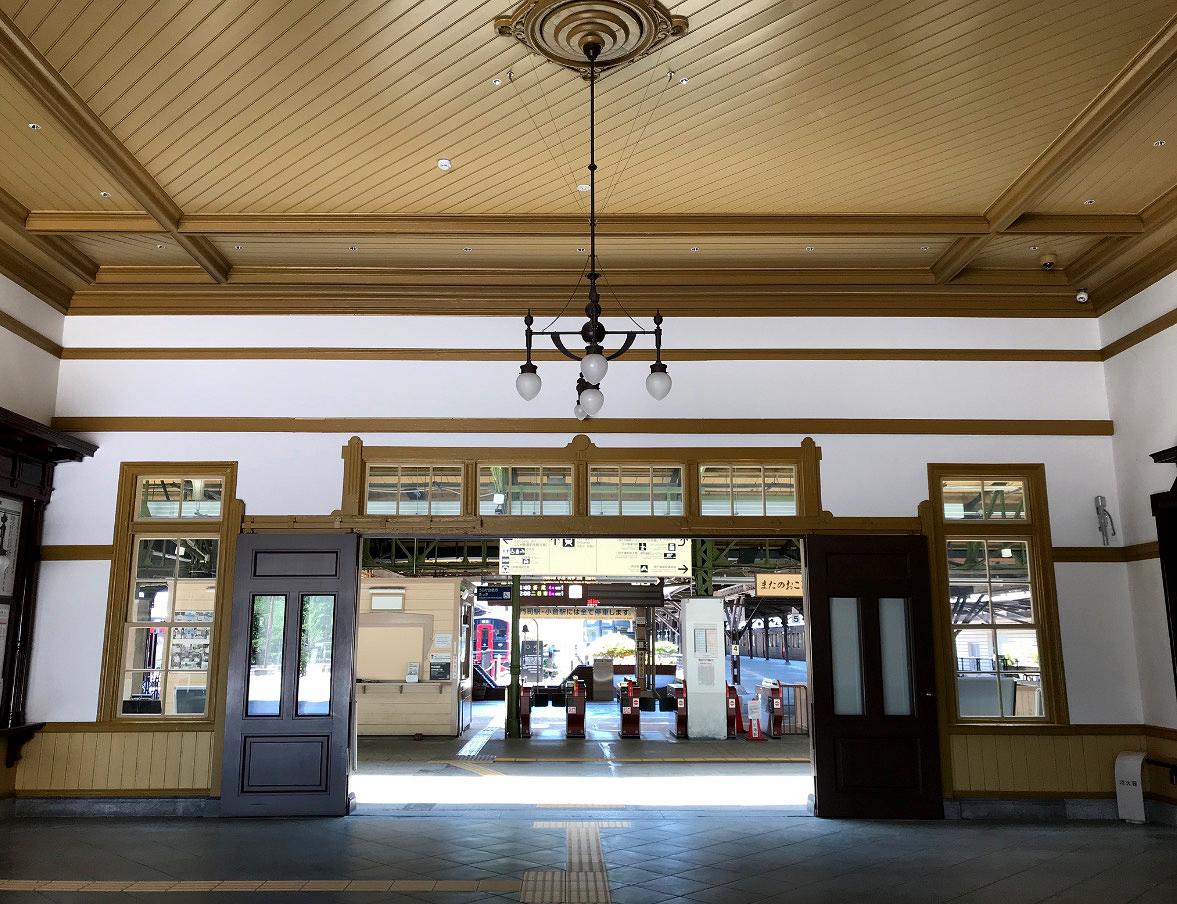 門司港駅のコンコース