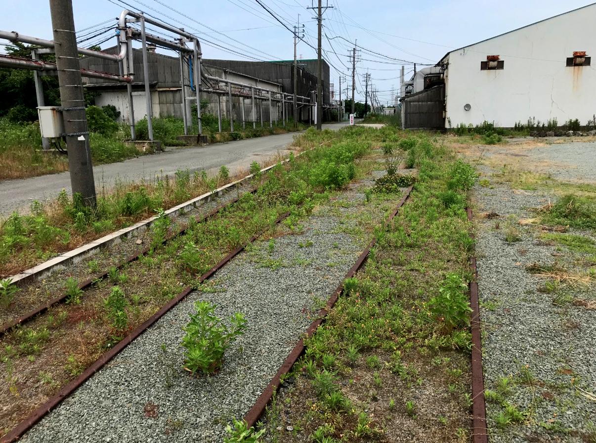 旧三池炭鉱専用鉄道敷