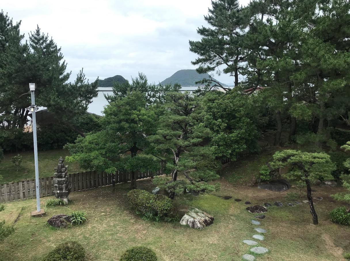 旧高取邸(唐津)の日本庭園