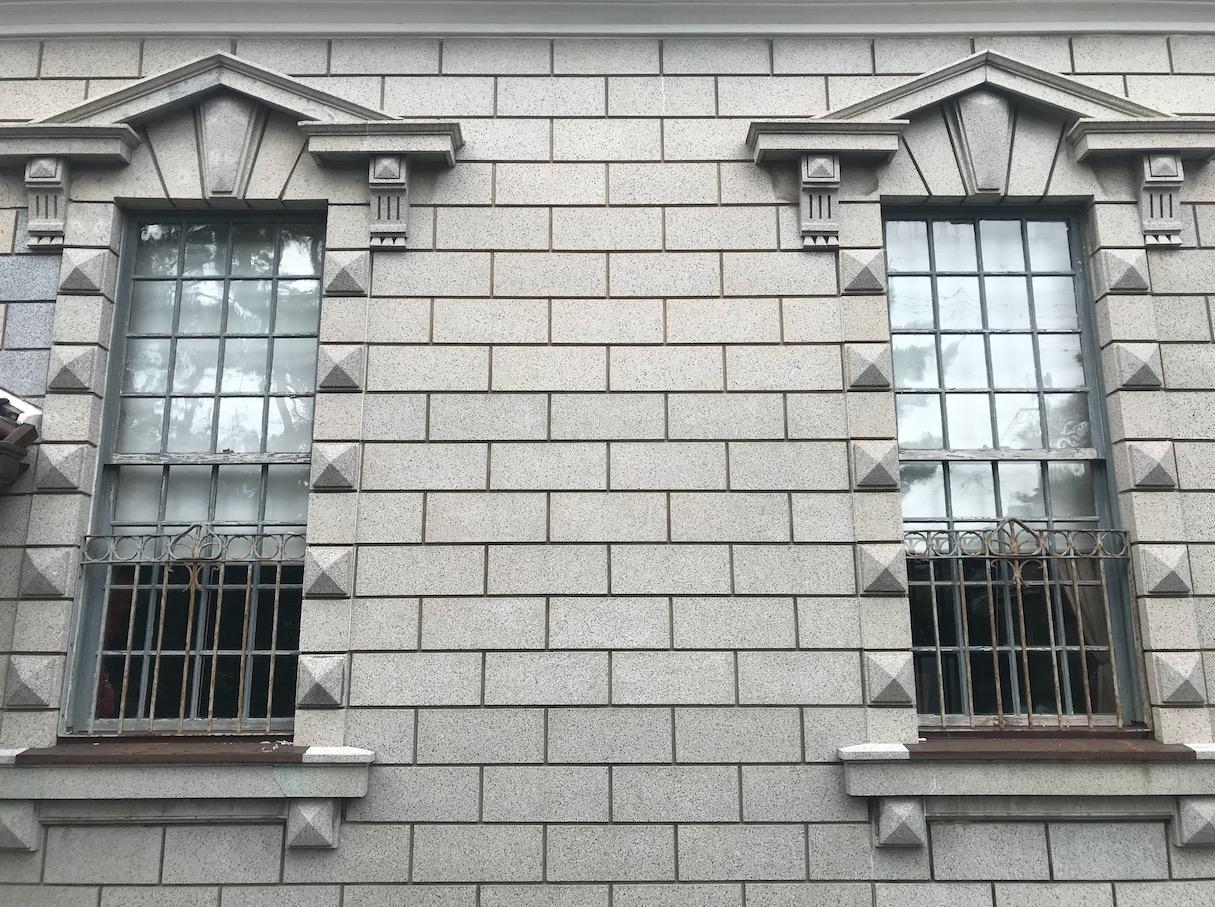 旧高取邸(唐津)の外壁