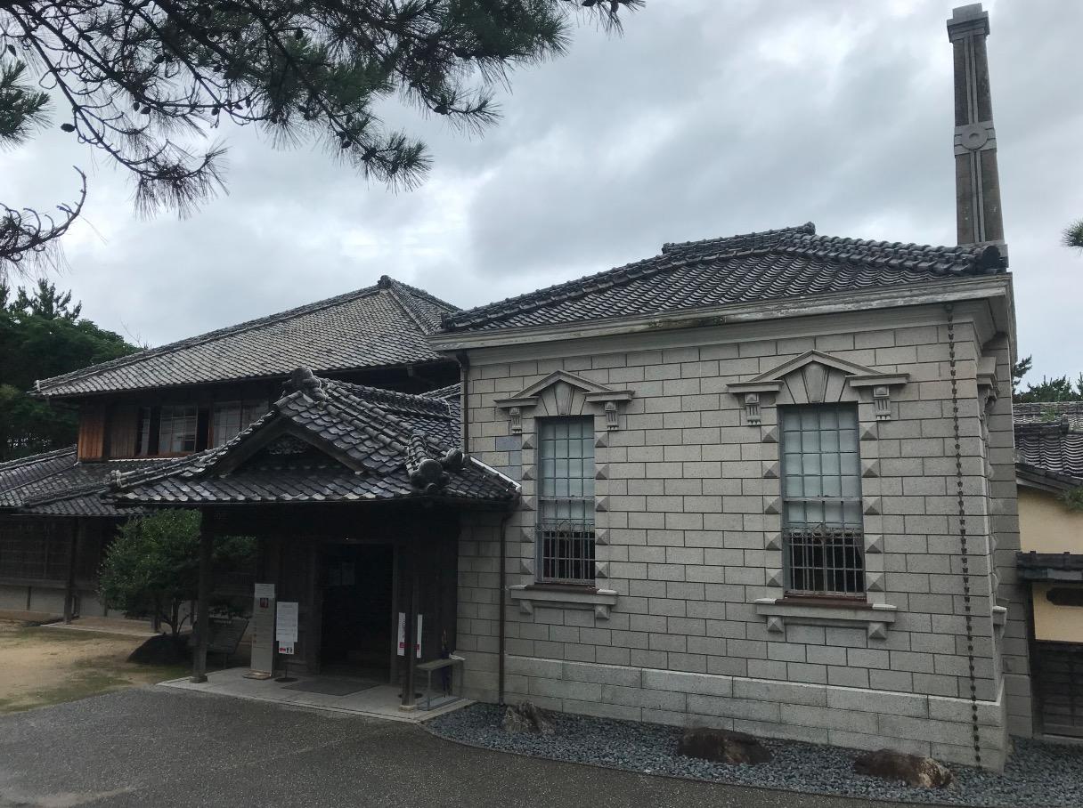 旧高取邸(唐津)見学者用入り口