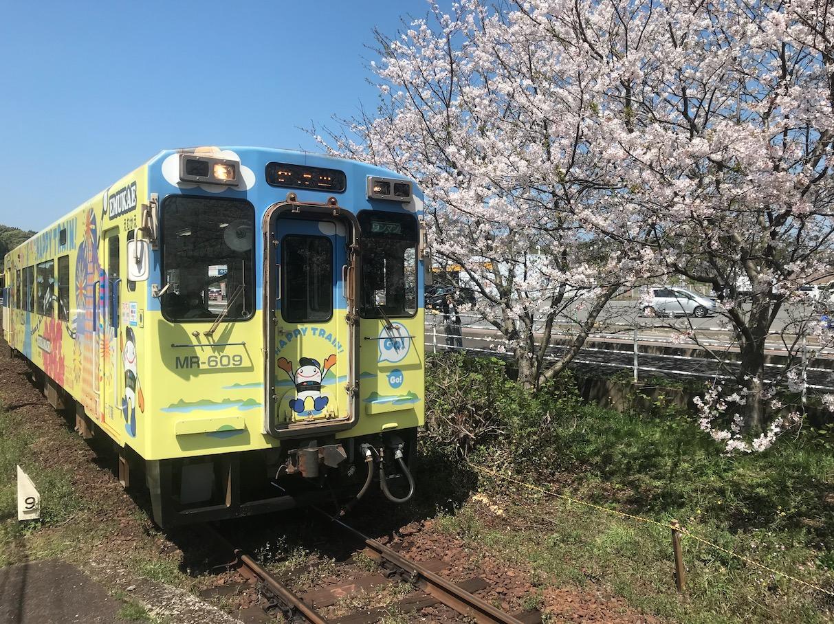 浦ノ崎駅(桜の駅)松浦鉄道