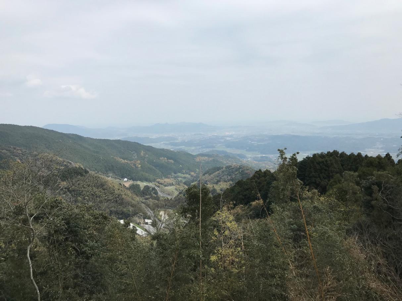 白糸の滝付近からの眺望