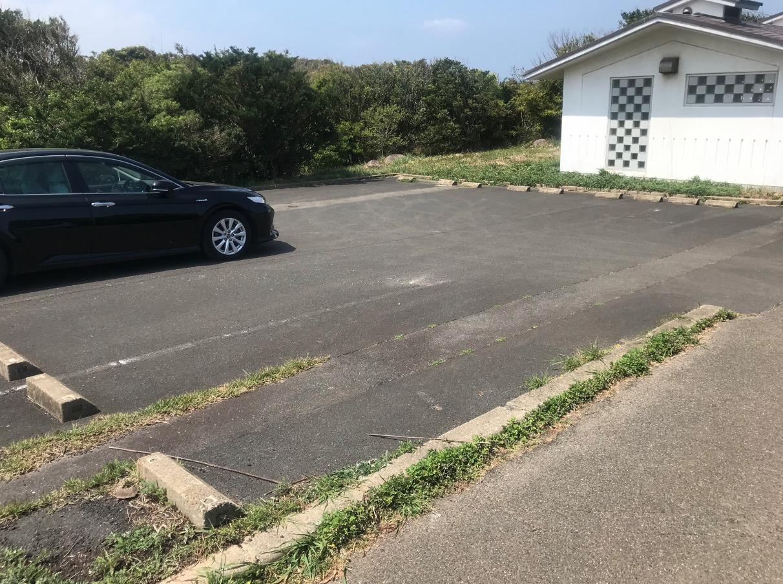 杉ノ原牧場(加部島)の駐車場