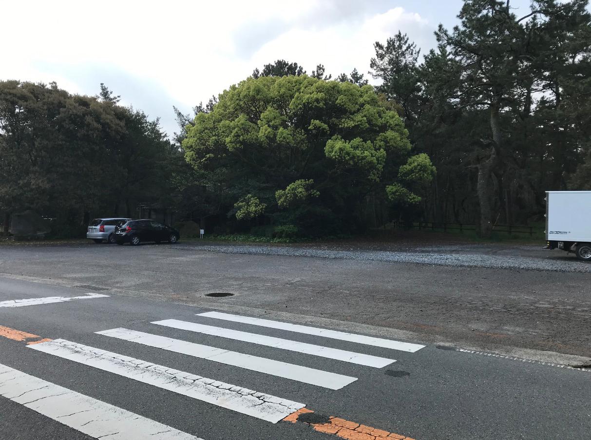 虹の松原の駐車場