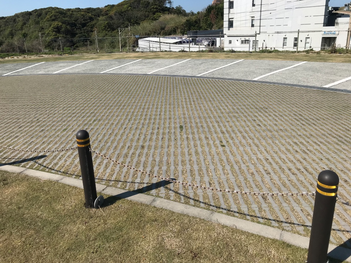 夏井ヶ浜はまゆう展望台の駐車場