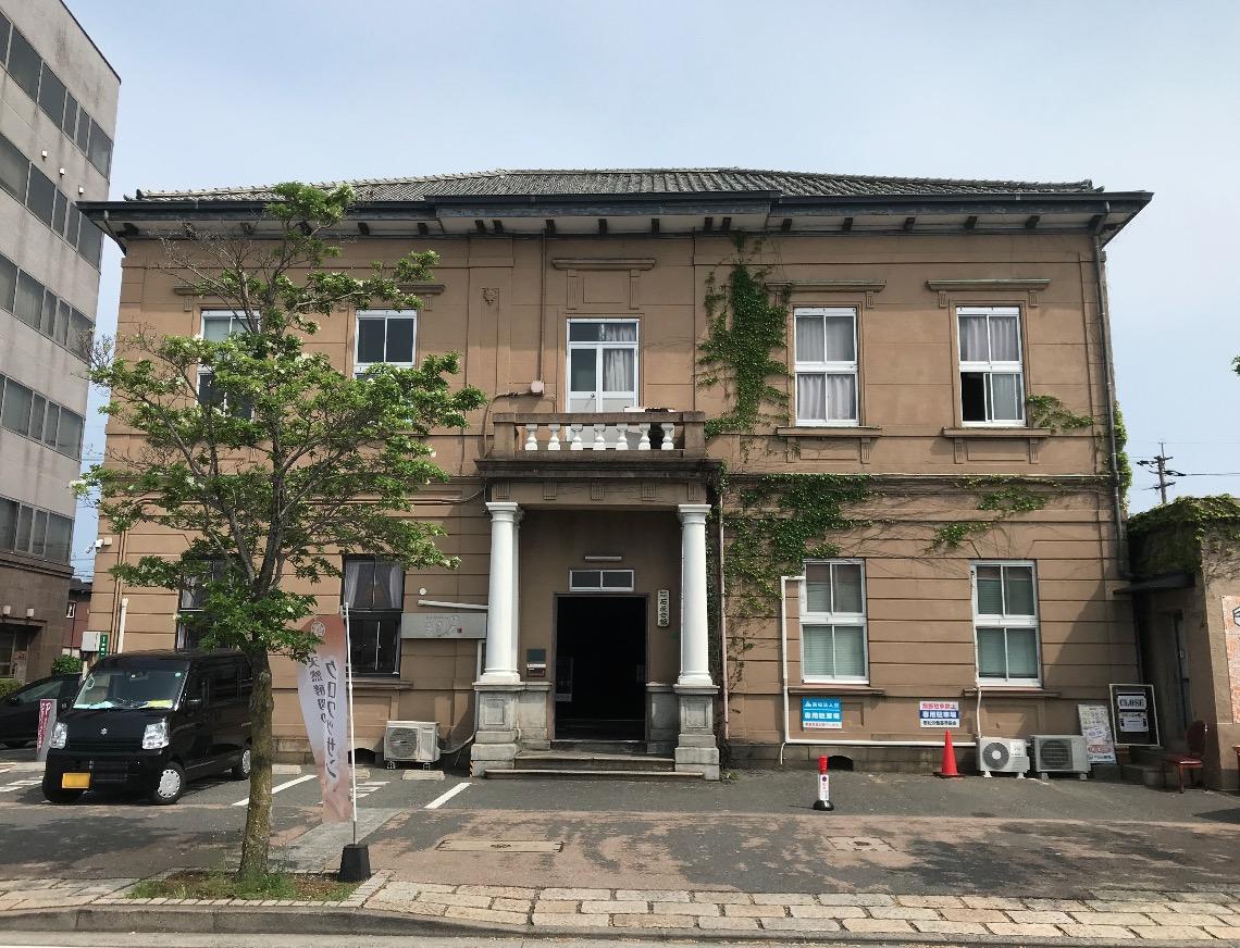 石炭会館(北九州市若松区)ファサード