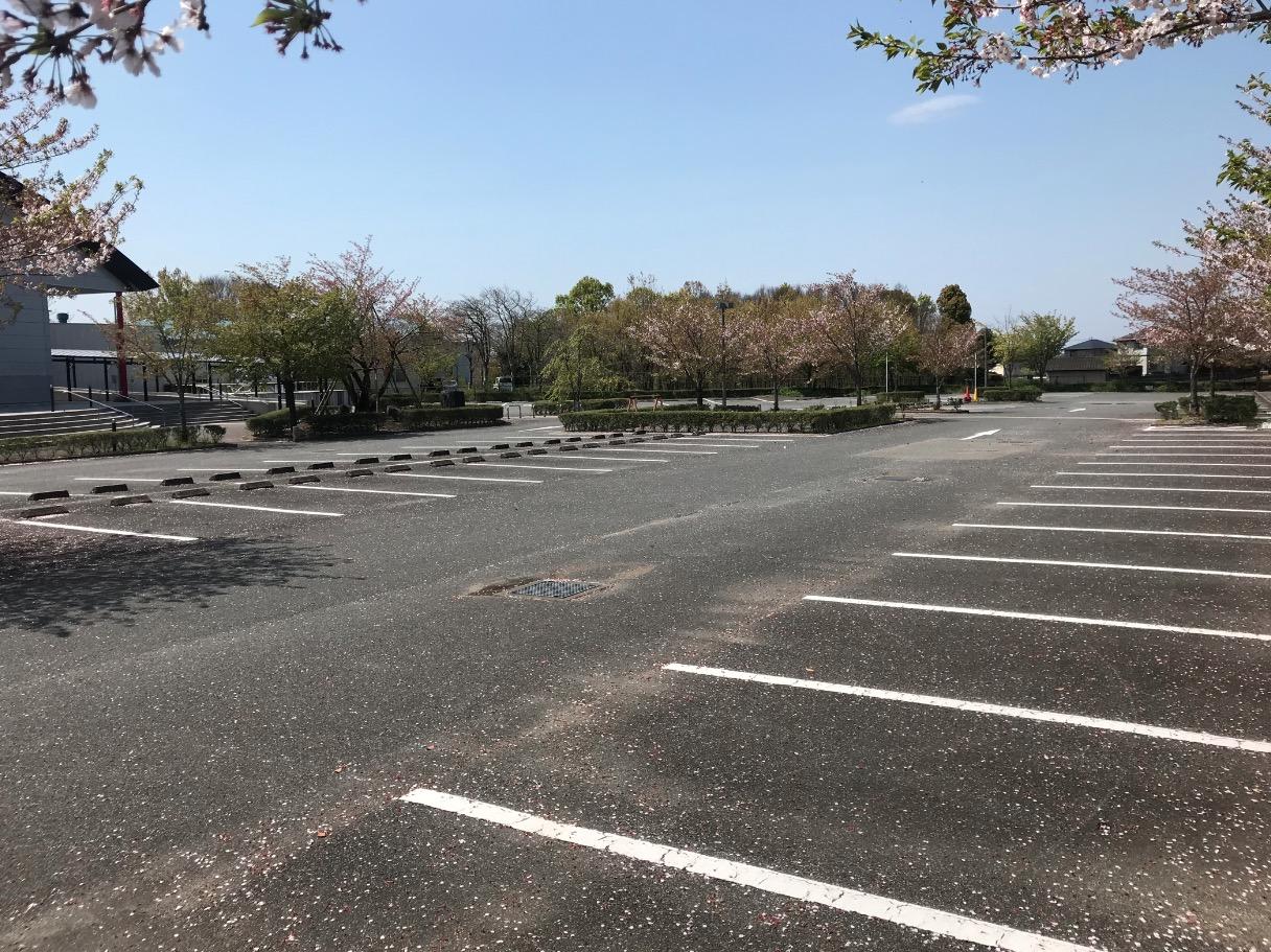 大刀洗平和記念館の駐車場