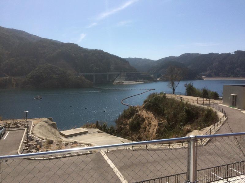 五ケ山ダムのモンベル(mont-bell)