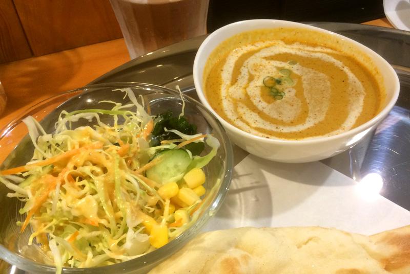 ジョティ那珂川店のカレー