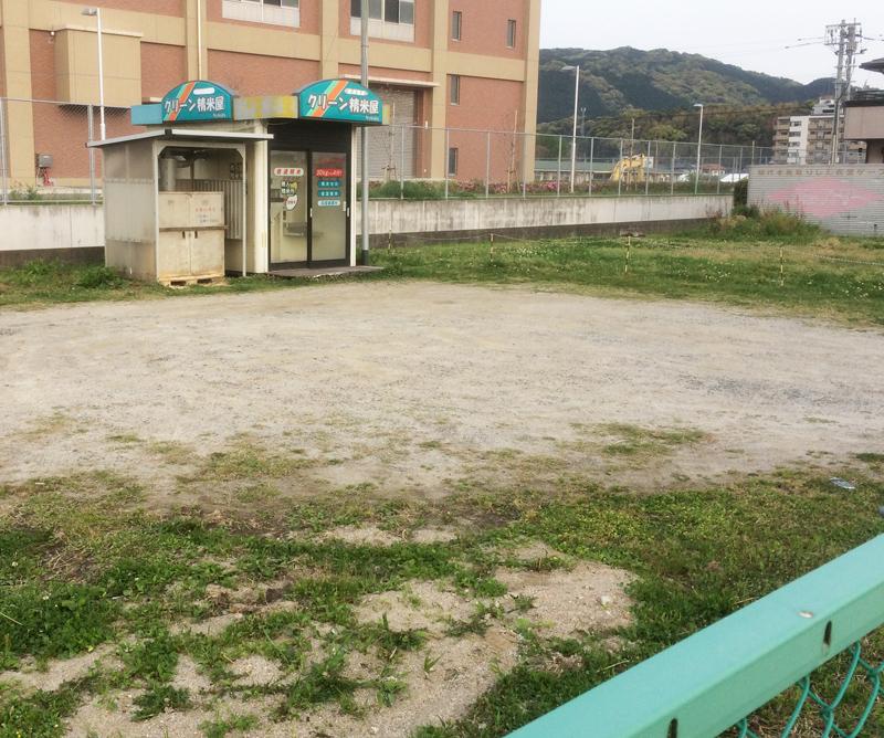 コイン精米所(那珂川市・東隈)と駐車スペース