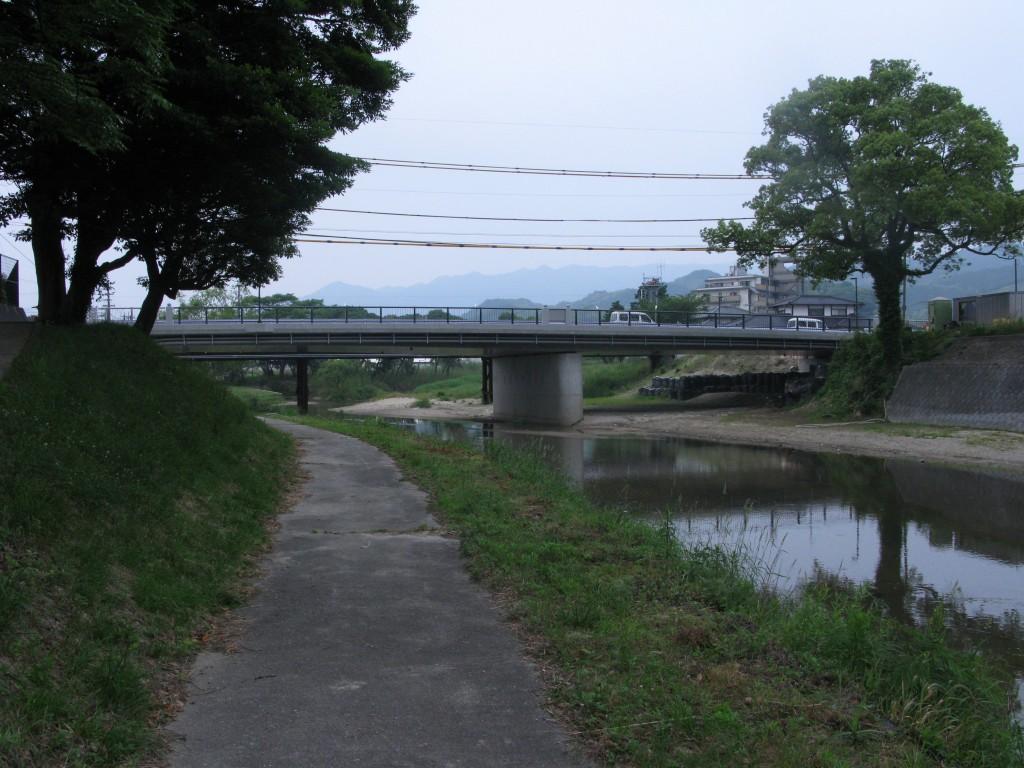 ようやく開通・現人橋(あらひとばし)