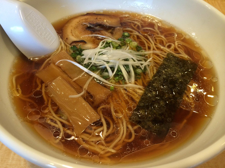 大野城・ラーメン城(JYO)の醤油ラーメン
