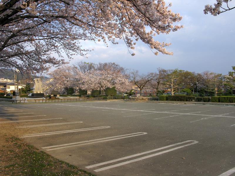 安徳公園(那珂川市)の駐車場